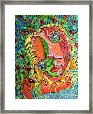 A. In Strawberry Fields Forever Framed Print