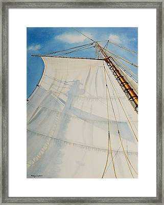 A. J. Meerwald Clear Day Framed Print by Phyllis London