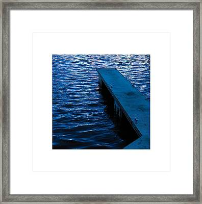 A Jetty's Life Framed Print by Paul Tully