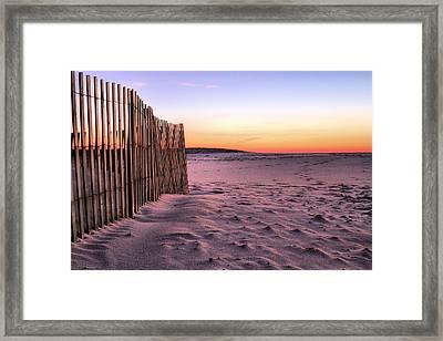 A Jones Beach Morning Framed Print by JC Findley