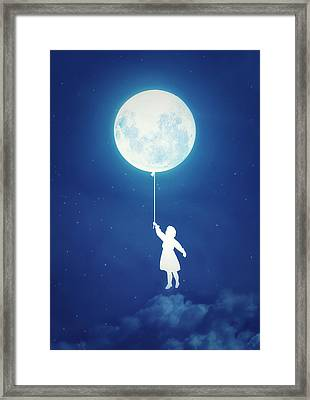 A Journey Of The Imagination Framed Print