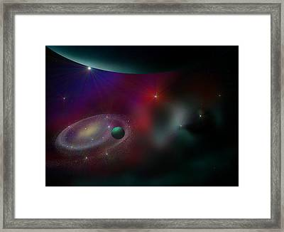 A Journey Through Time Framed Print by Ricky Haug
