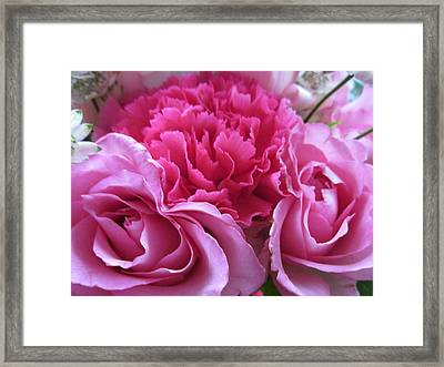 Happy Mothers Day/a Bundle Of Joy Framed Print