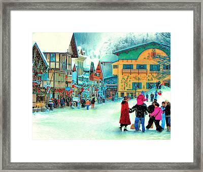 A Joyful Time Framed Print