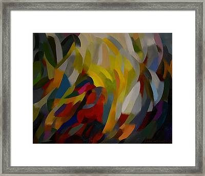 A Jungle Framed Print by Jukka Nopsanen