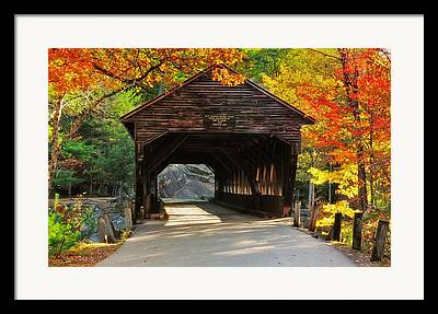 North Conway Framed Prints