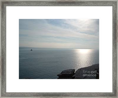 A King's View Framed Print