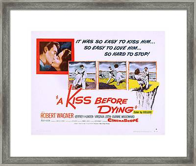 A Kiss Before Dying, Us Lobbycard, 1956 Framed Print