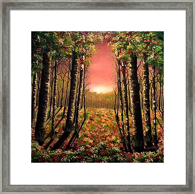 A Kiss Of Life Framed Print