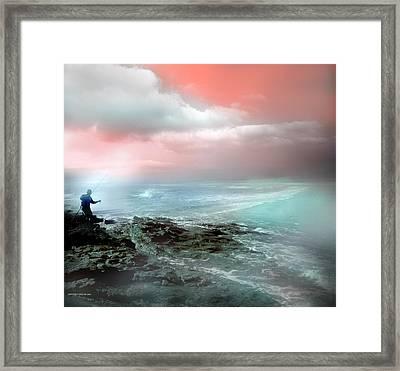 A La Lubina Framed Print by Alfonso Garcia