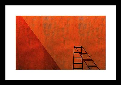 Ladders Photographs Framed Prints