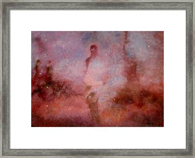 A Lady In Dream Framed Print by Min Zou