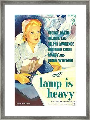 A Lamp Is Heavy, Aka The Feminine Framed Print by Everett