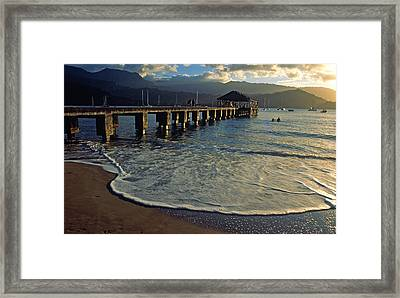 A Land Called Hanalei Framed Print
