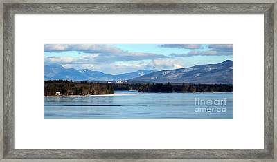 A Land Of Beauty Framed Print