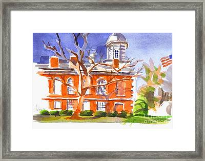 A Late Autumns Saturday Afternoon Framed Print by Kip DeVore