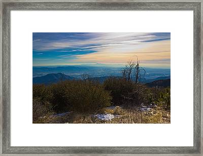 A Late Winter's Afternoon Framed Print