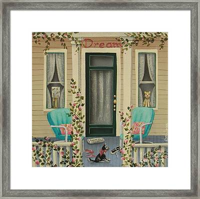 A Lazy Saturday Morning Framed Print by Catherine Holman