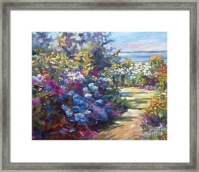 A Lazy Summer Day Framed Print by David Lloyd Glover