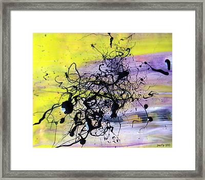 A Lemon And Her Major Depressive Episodes  Framed Print by Sir Josef - Social Critic - ART