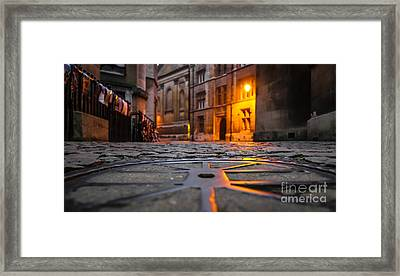 A Light In The Dawn Framed Print by David Warrington