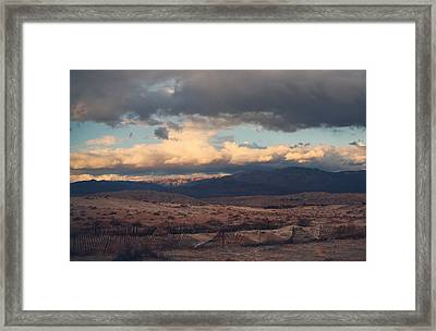 A Light In The Distance Framed Print