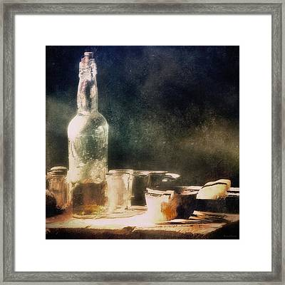 A Light Lunch Framed Print by Barbara D Richards