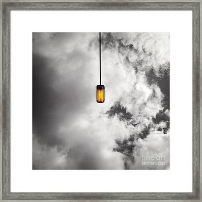 A Light That Never Goes Out Framed Print by Claudia Newman
