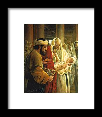 Mother Mary Framed Prints