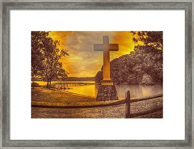 Framed Print featuring the photograph A Light Unto The World by Dennis Baswell
