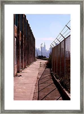 A Limited View Framed Print by Nick Busselman