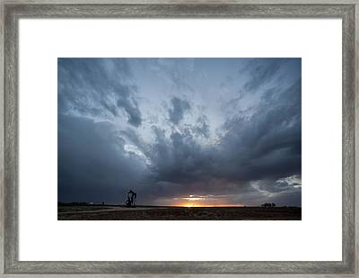 A Little Bit Of Weather Framed Print