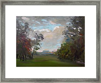 A Little Break From The Rain Framed Print by Ylli Haruni