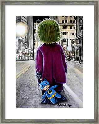 A Little Chaos Never Hurt Anybody Framed Print by Al  Molina