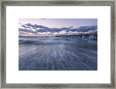 A Little Closer Framed Print