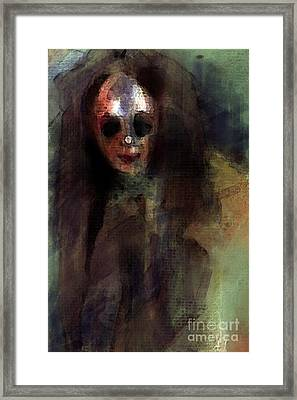 A Little Creepy Framed Print by Thomas Zuber