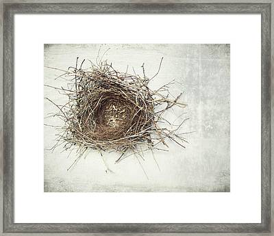 A Little Home Framed Print by Lupen  Grainne