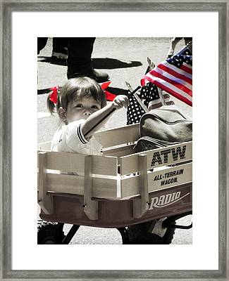 A Little Pride Framed Print by Leah Moore
