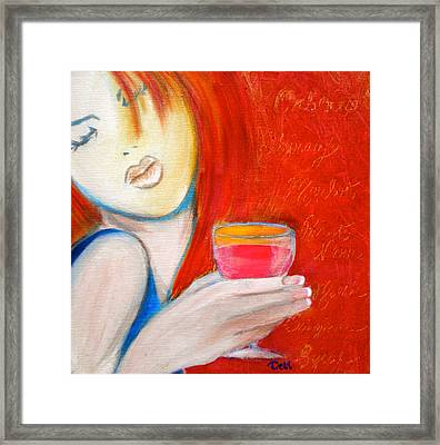 A Little Tart Framed Print