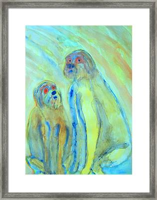 They Were An Anxious Little Family, And They Didn't Understand Everything, So Please Forgive Them    Framed Print