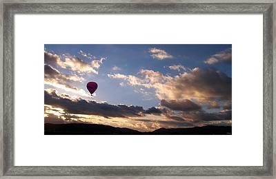 A Lone Flight Framed Print by Glenn McCarthy Art and Photography