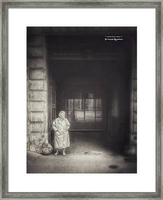 Framed Print featuring the photograph A Long Boring Wait... by Stwayne Keubrick