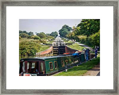 A Long Climb Framed Print