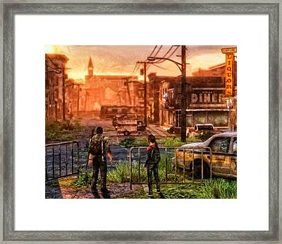 A Long Journey Framed Print by Joe Misrasi