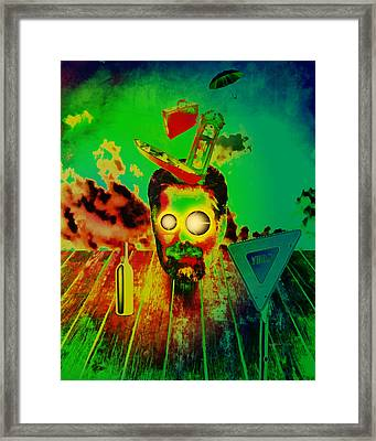 A Long Strange Trip Framed Print