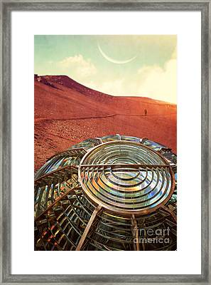 A Long Walk Home Framed Print by Edward Fielding
