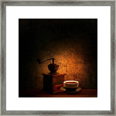 A Look At The Past Framed Print by Lourry Legarde