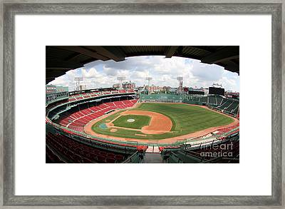 A Look Over Fenway Framed Print by Bryan Maransky