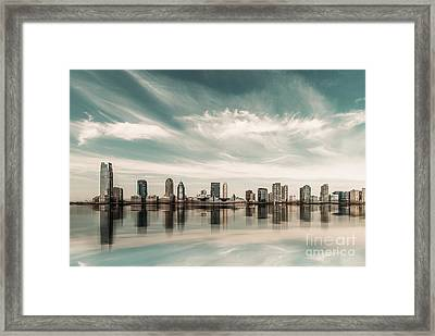 a look to New Jersey  Framed Print by Hannes Cmarits