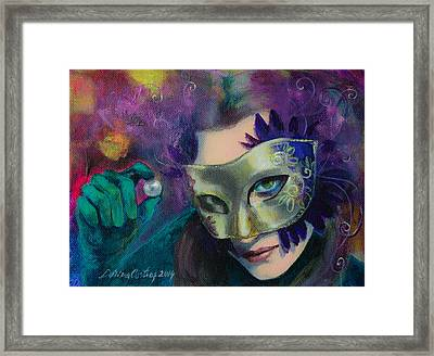 A Losing Game Framed Print by Dorina  Costras